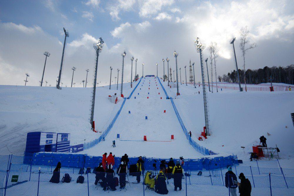 Могул - вид лыжной акробатики