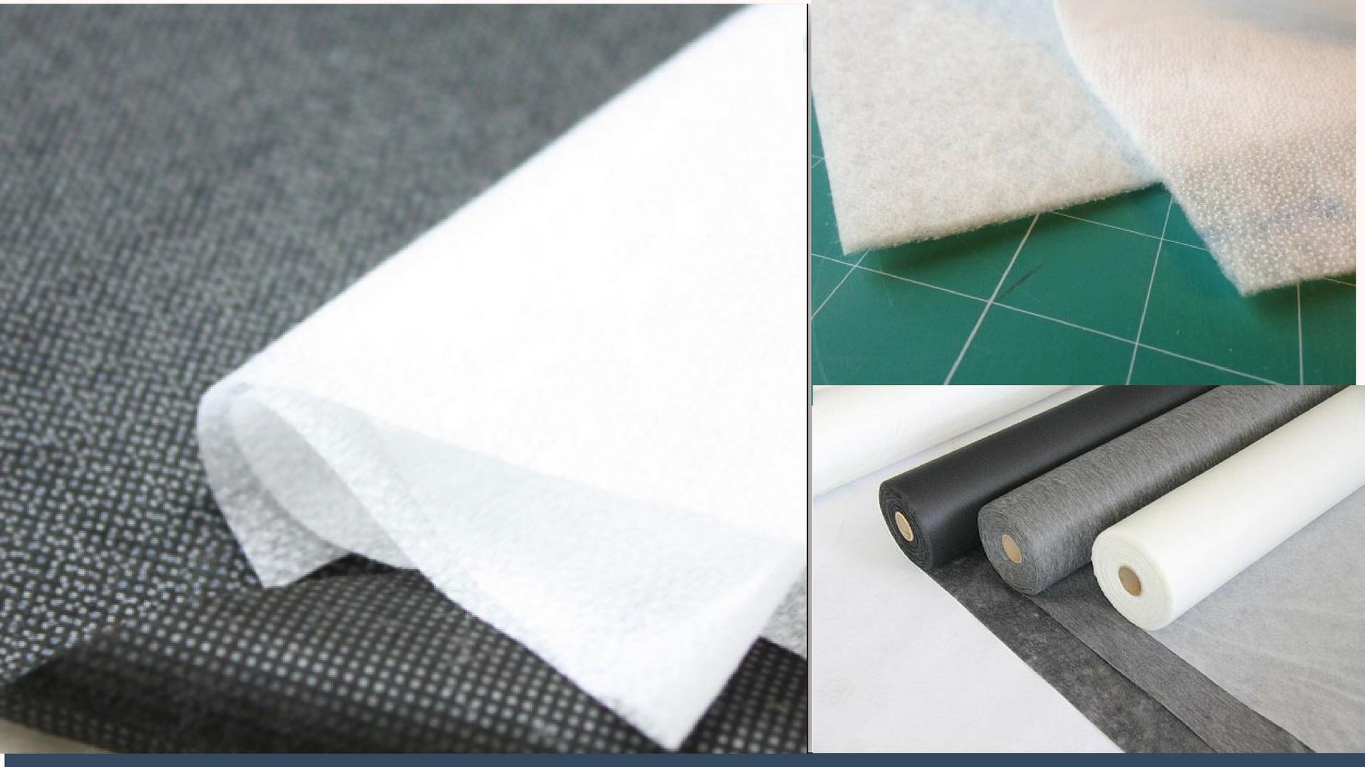 Ткань флизелин: что это такое, как и для чего используют клеевой и неклеевой материал?