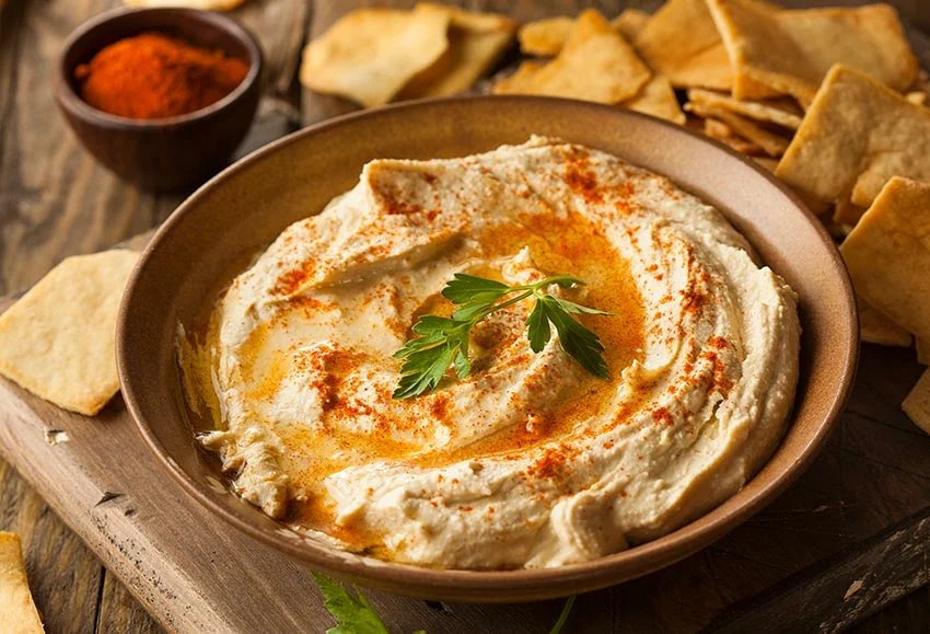 Из чего состоит хумус и как его приготовить