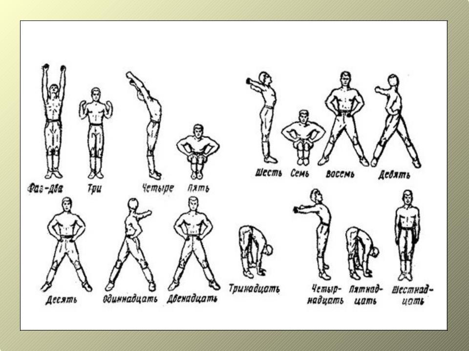Строевые упражнения в гимнастике