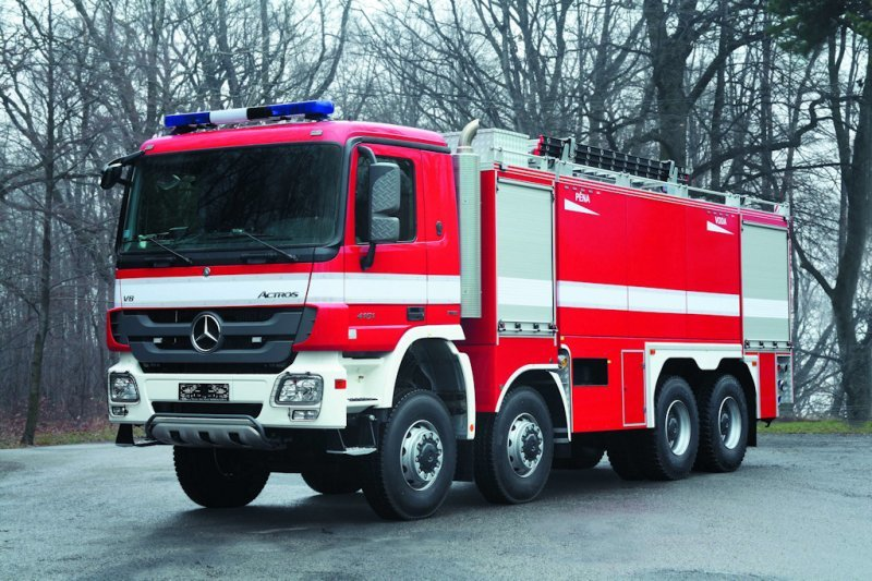 Специальные пожарные автомобили виды назначение - всё о пожарной безопасности