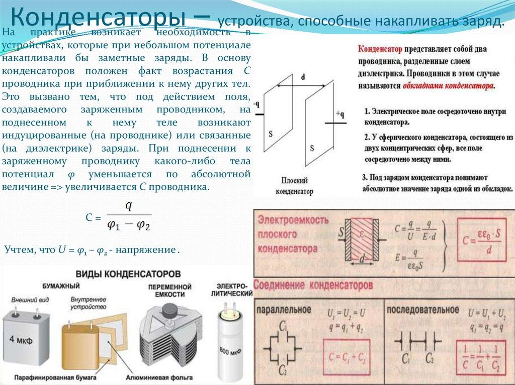 Что такое конденсатор и как они используются | компьютер и жизнь