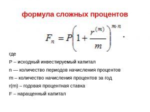 Простые и сложные проценты — формула и как рассчитать их на вкладе