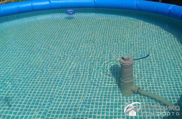 Что это такое скиммер для бассейна?