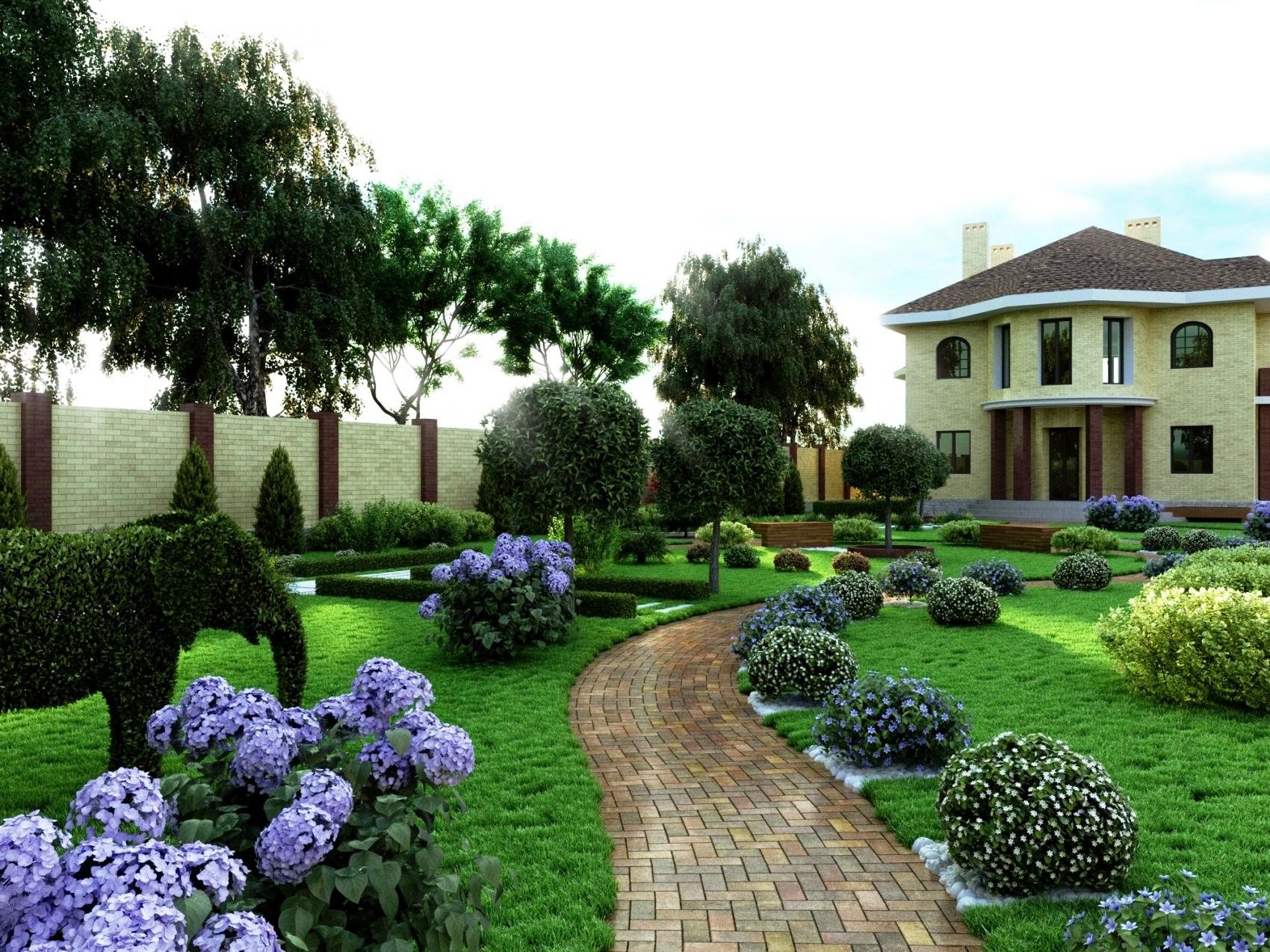 5 интересных идей для загородного ландшафта, популярные стили и способы их воплощения