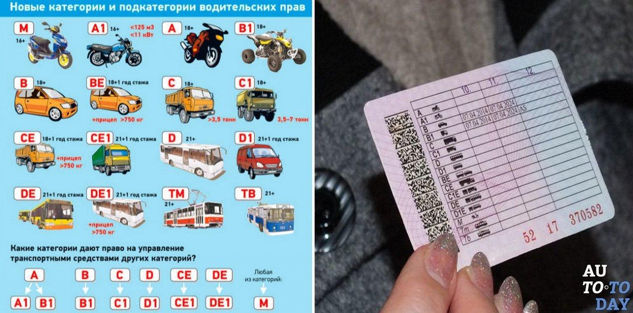 Категория в1 это что в водительских правах, что означает отметка as, в чем разница от b