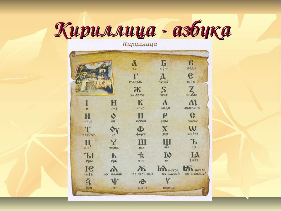 Кириллица — это какие буквы на клавиатуре: русская раскладка