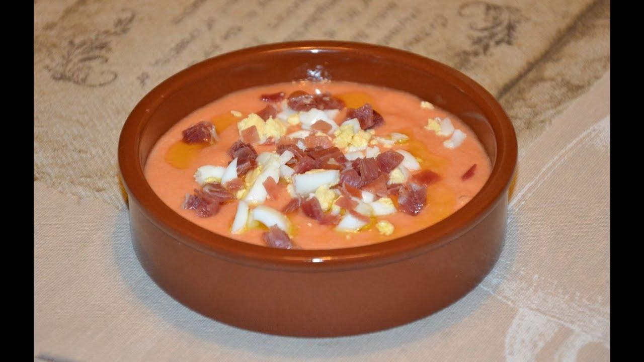 Испанский холодный суп сальморехо: рецепт