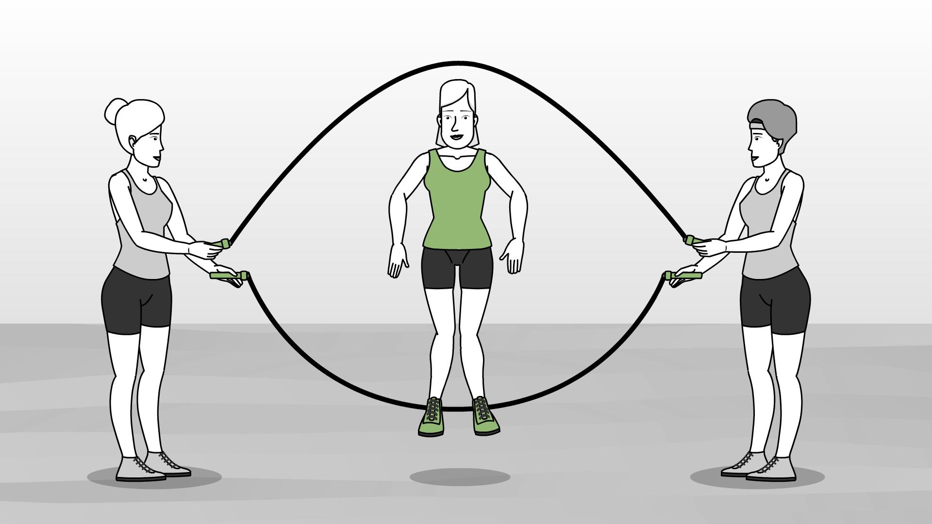 Как научиться прыгать на нейроскакалке: правильно пользоваться