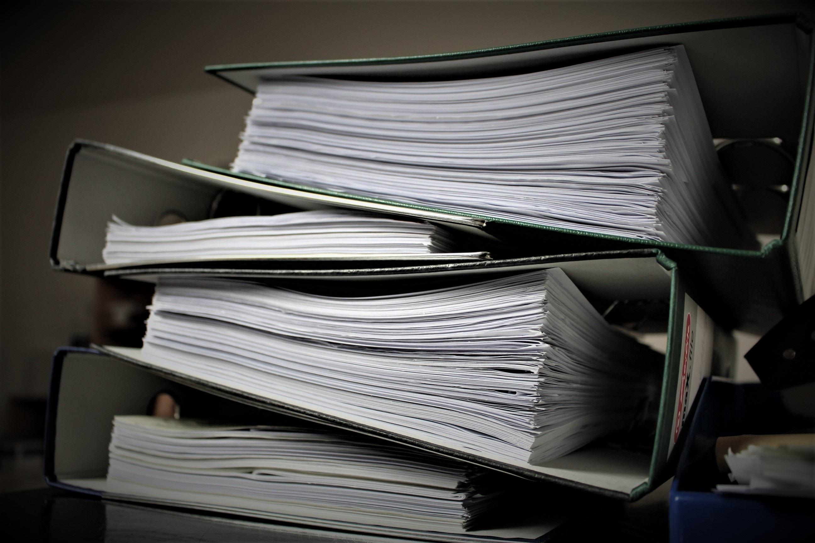 Основные понятия делопроизводства и документооборота