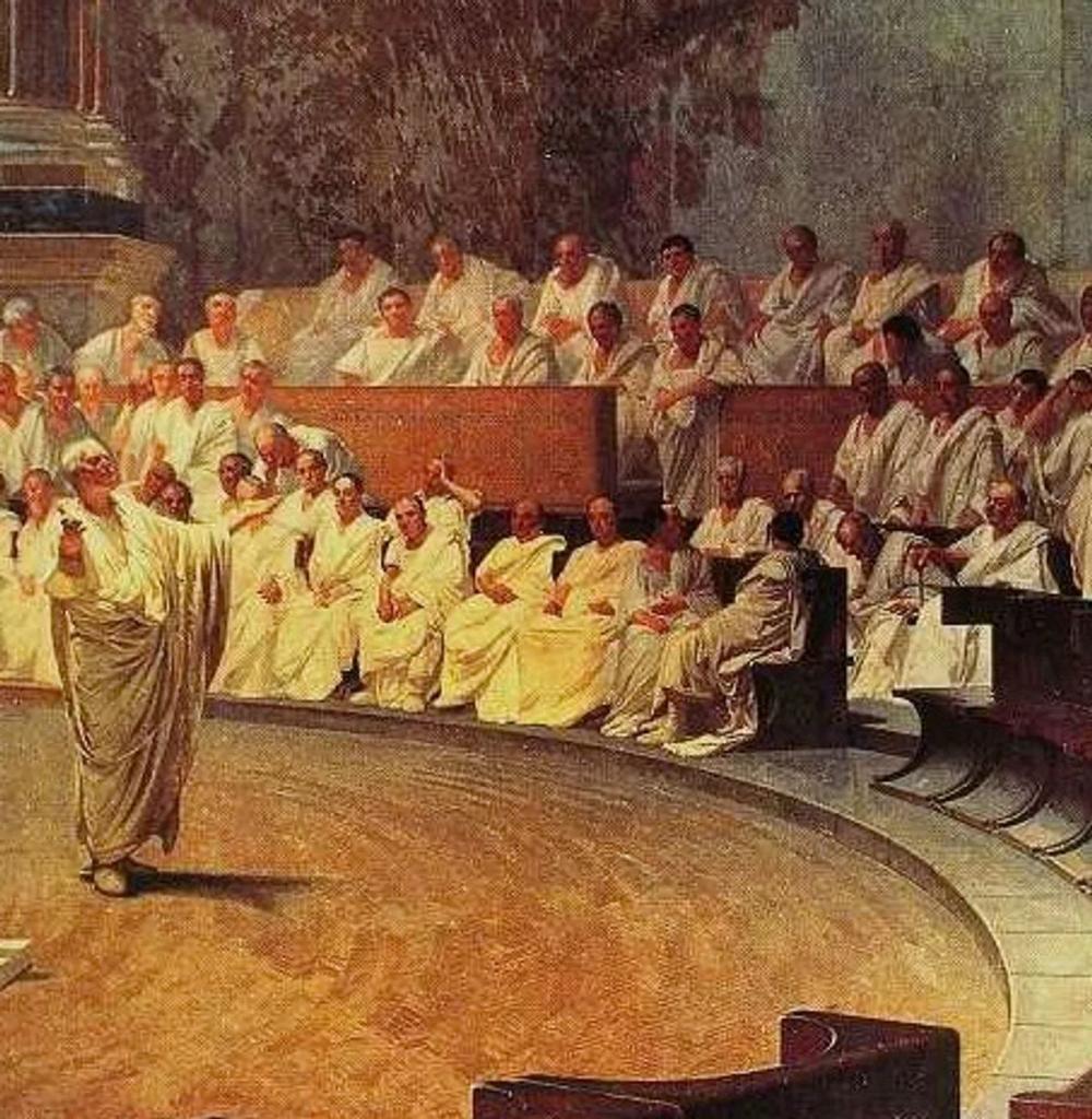 Сенатор (древний рим) википедия