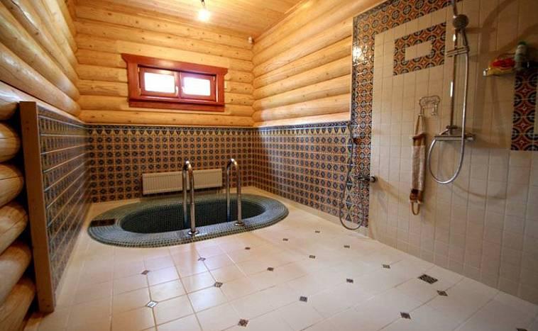 Деревянные купели: кедровая для бани и из лиственницы, дубовая и из бука, размеры и советы по использованию