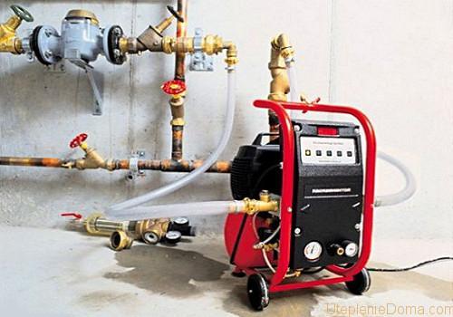 Опрессовка системы отопления: что это такое?