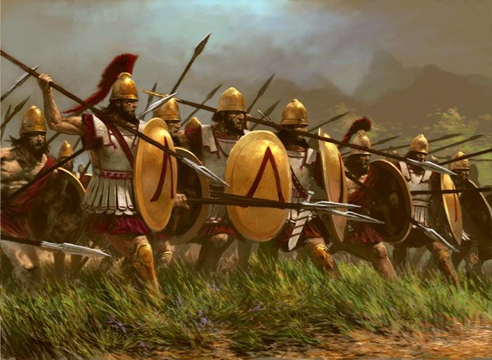 Древняя спарта и ее достопримечательности