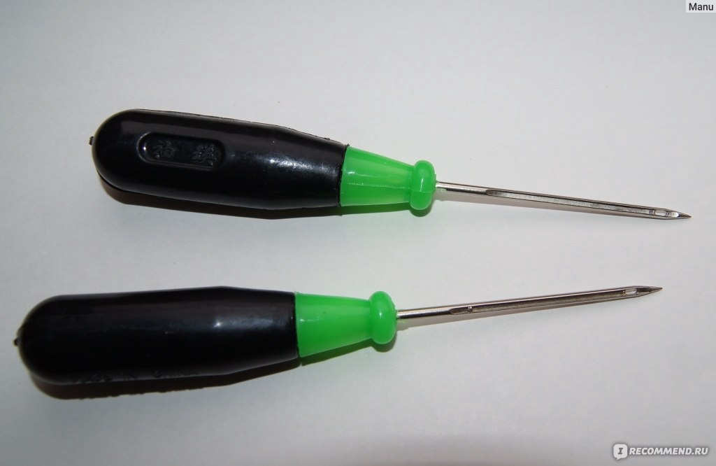 Шьем шилом - учимся правильно пользоваться инструментом
