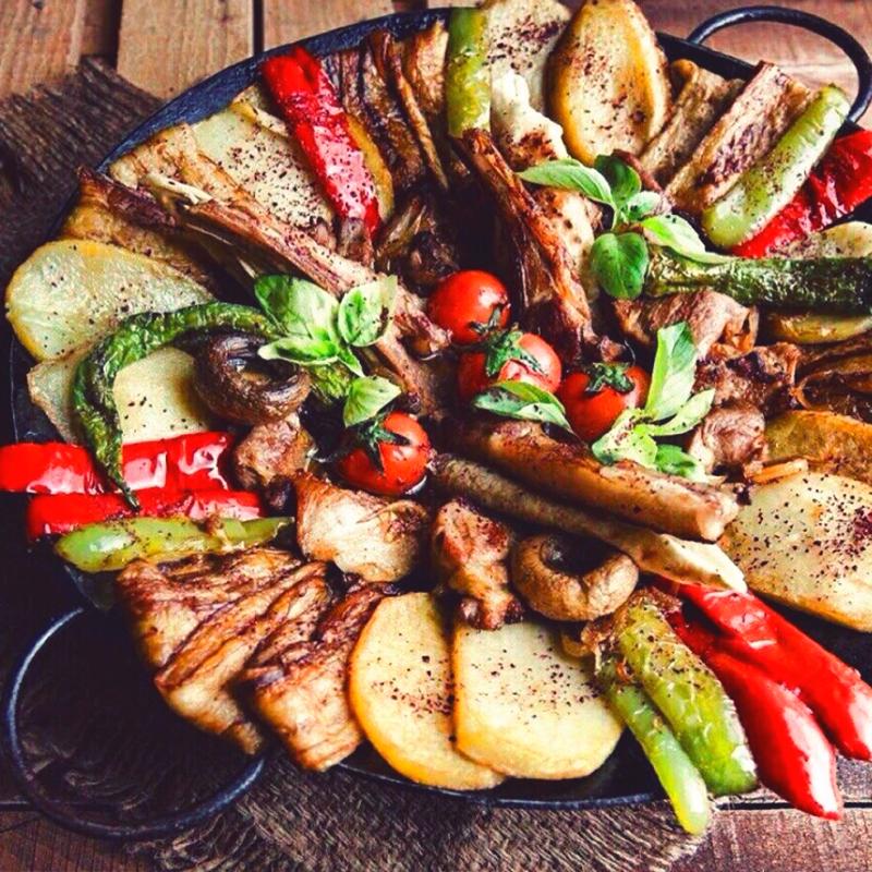 Азербайджанские сковородки садж: виды, как правильно выбрать и готовить на ней