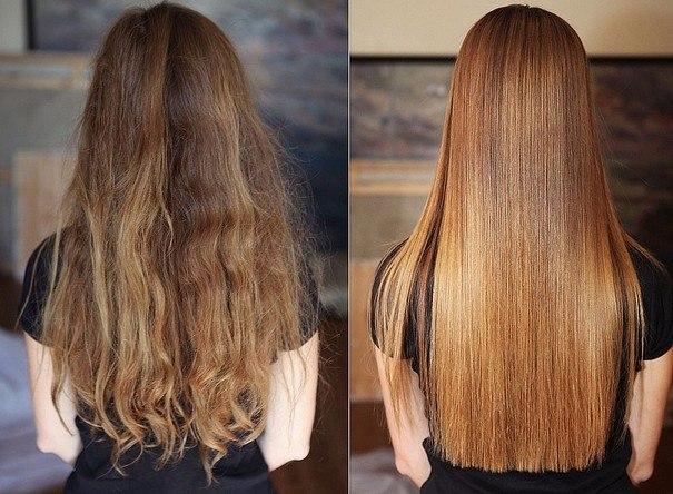 Кератиновое выпрямление волос: что это, плюсы и минусы, средства, технология выполнения, уход