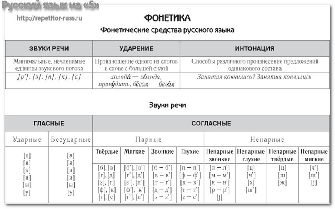Фонетика - это... что такое фонетика русского языка?