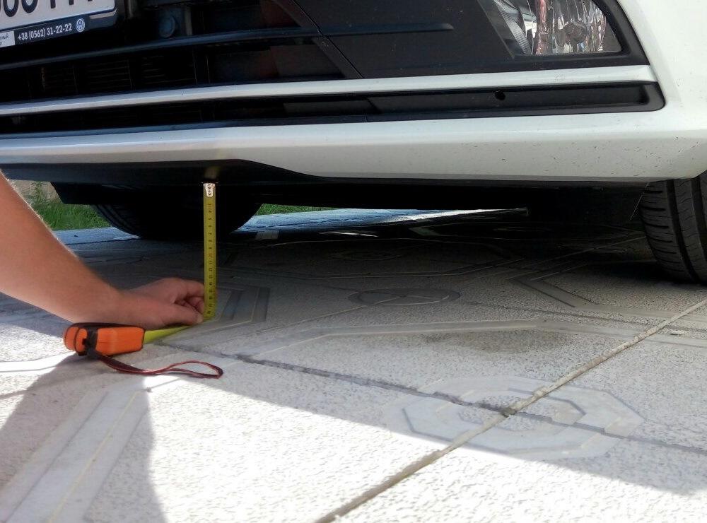 Замер и регулировка клиренса автомобиля