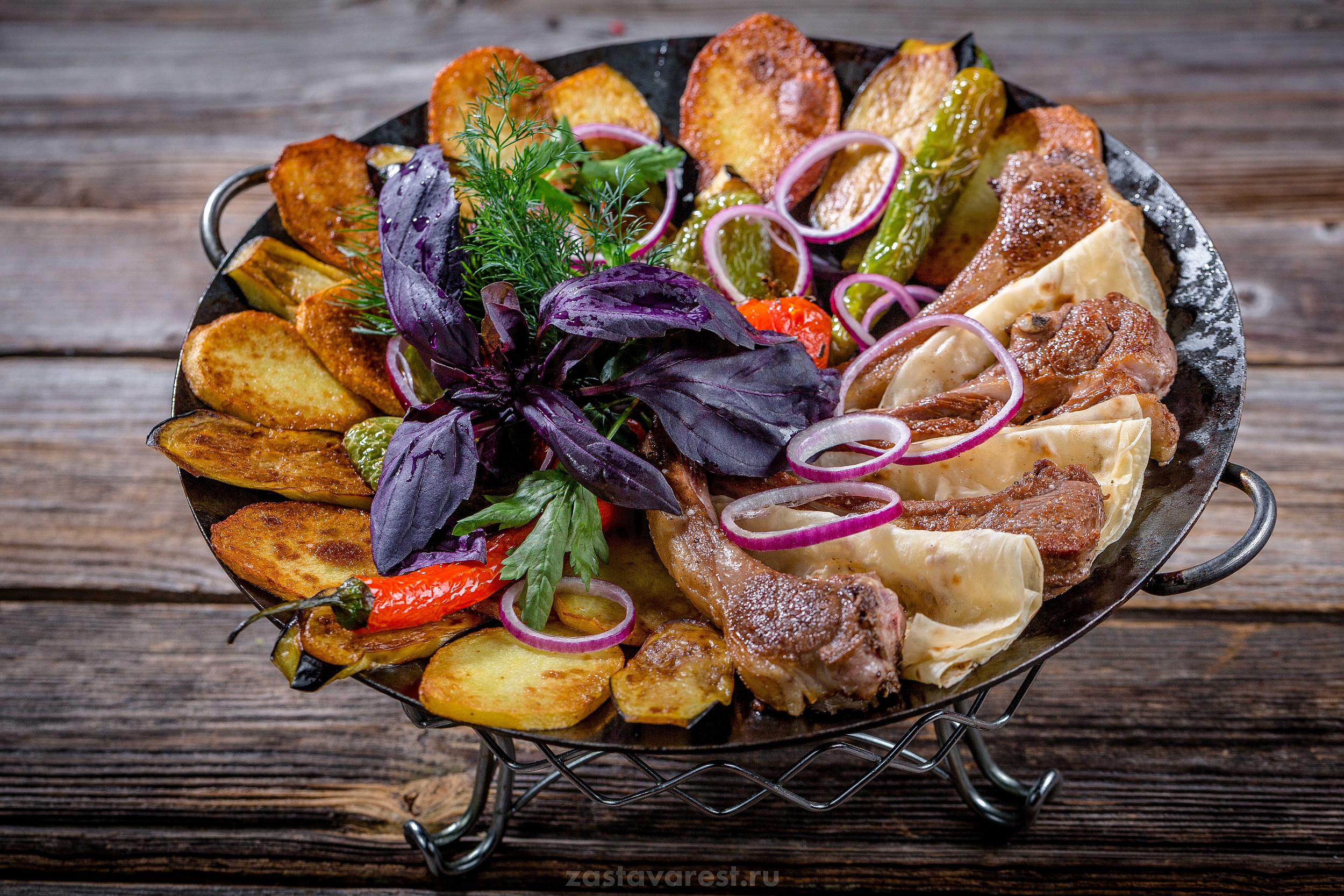 Виды азербайджанских сковород садж и рекомендации по выбору