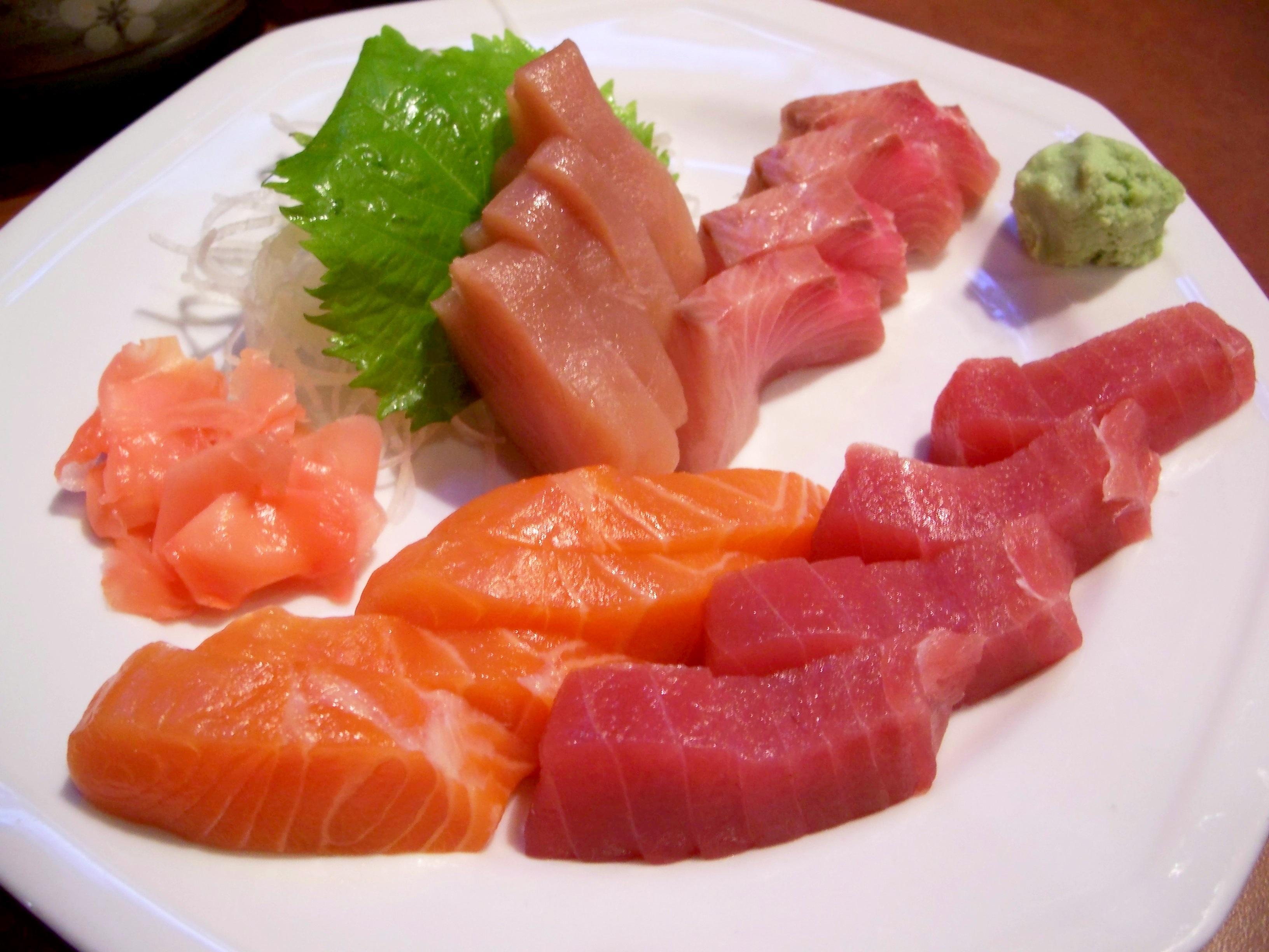 Что такое сашими?