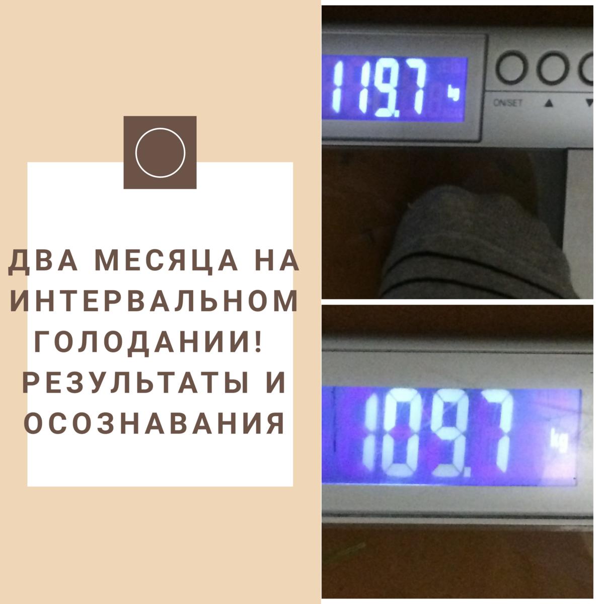 Интервальное голодание 16/8 для похудения: отзывы, меню