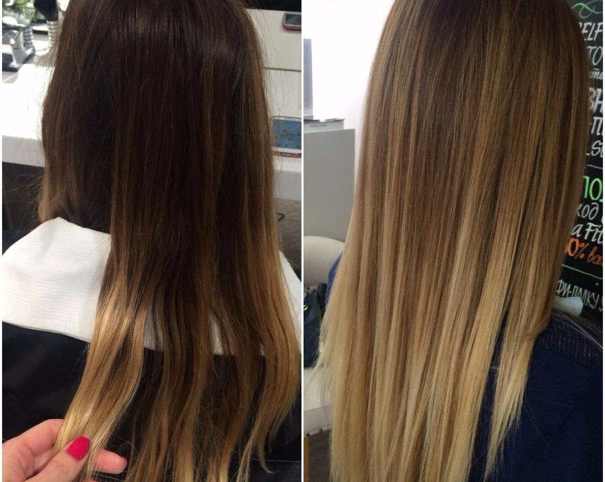 Окрашивание балаяж – лучшие оттенки для волос