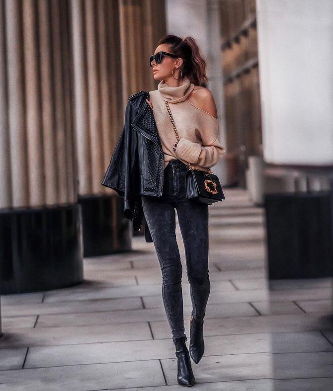 Как стильно носить джинсы-скинни в 2020 году: 19 актуальных образов на каждый день