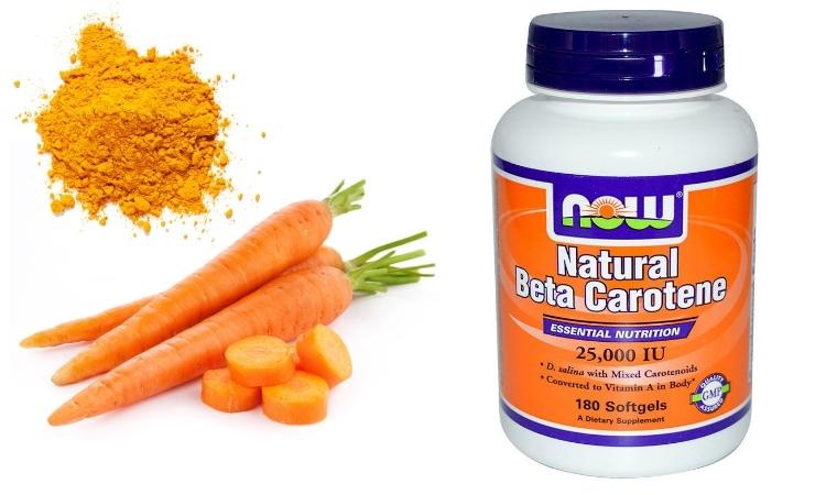 Польза бета-каротина для организма человека