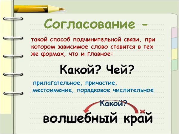 Что такое словосочетание в русском языке. правило, что называется словосочетанием