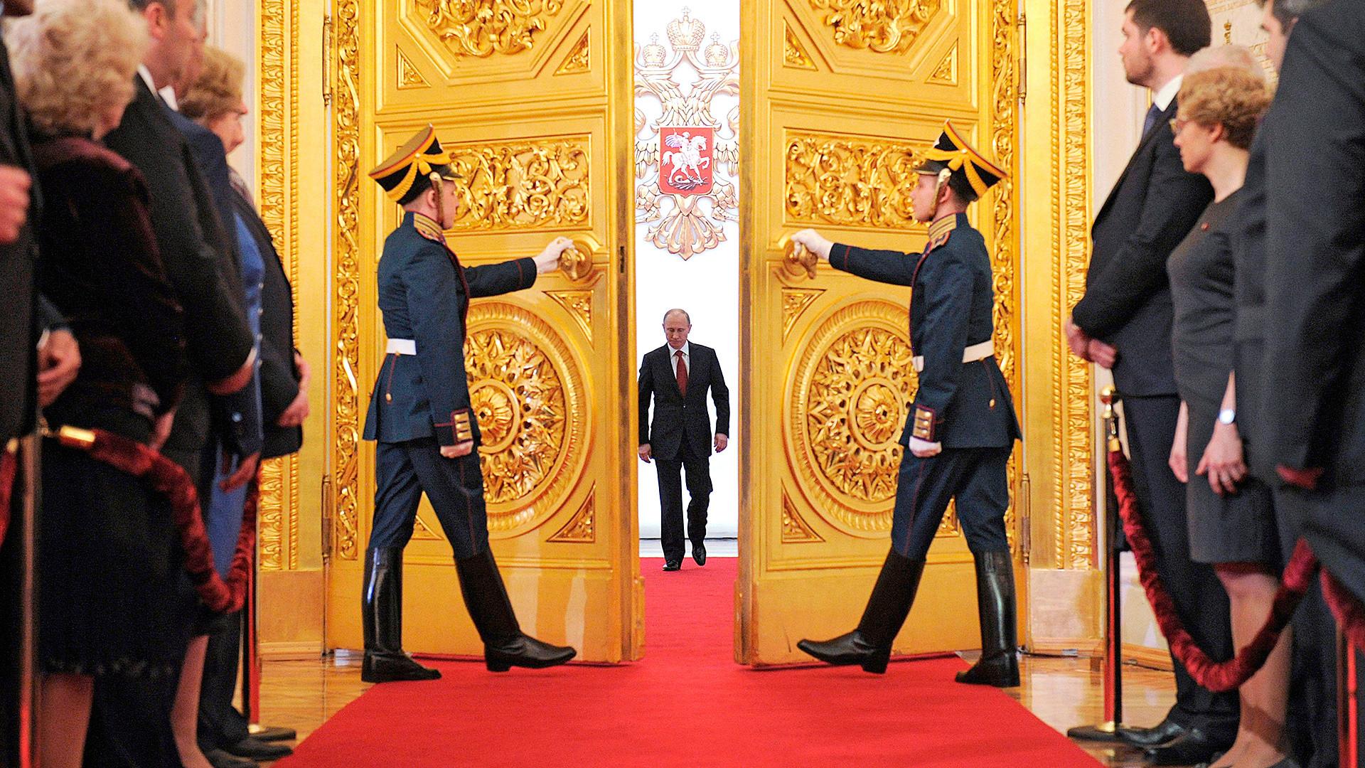 Инаугурация президента российской федерации — википедия. что такое инаугурация президента российской федерации