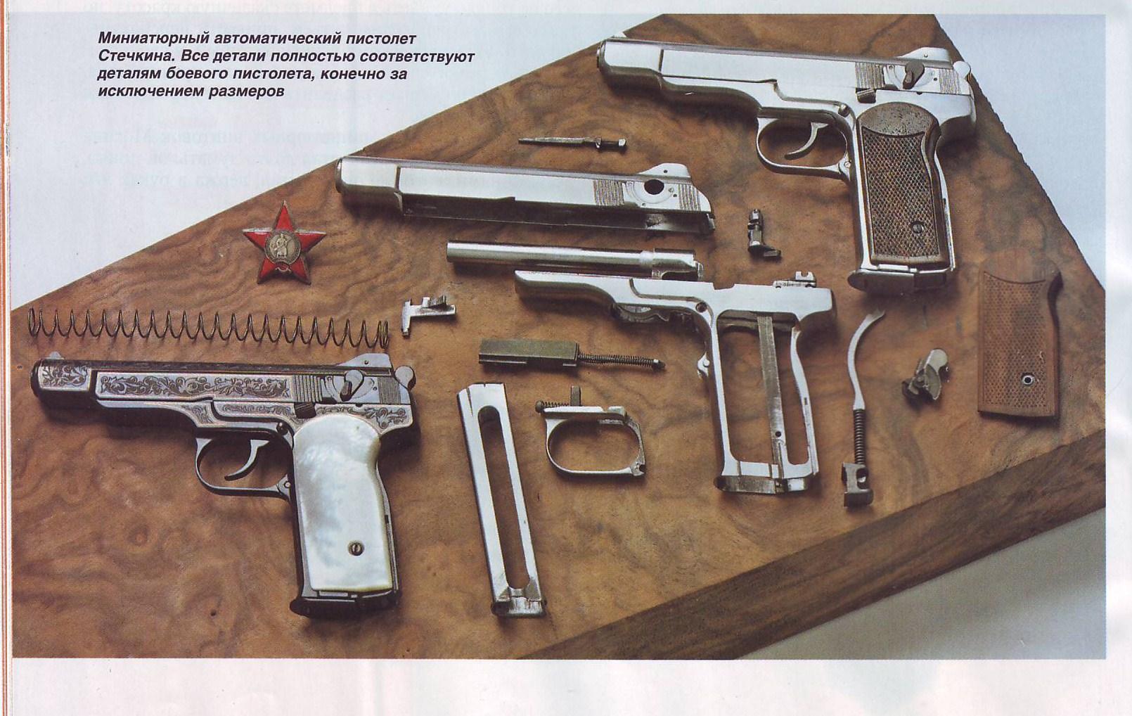 Пистолет токарева сегодня