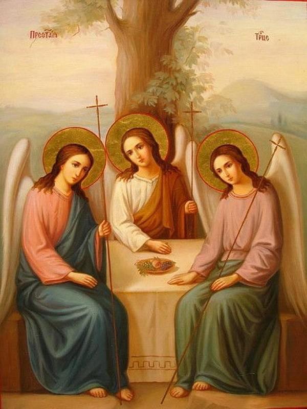 Святая троица. пятидесятница: иконы, фрески, мозаики (+80 изображений ) | православие и мир