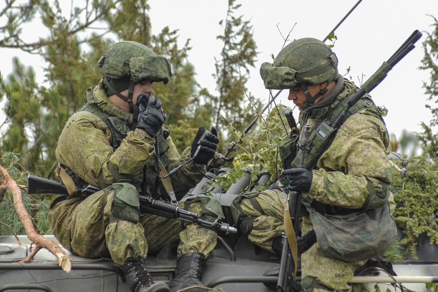 Воинские части российской федерации