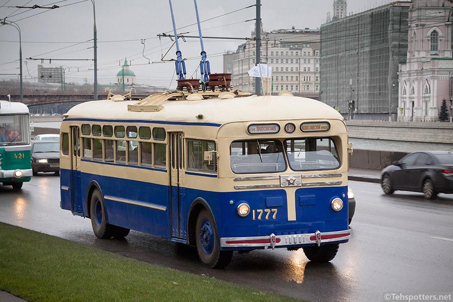 Троллейбусы: напривязи