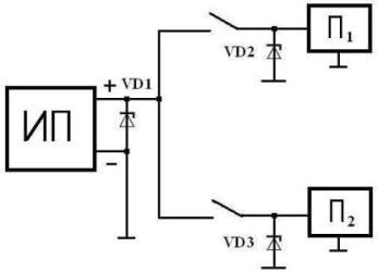 Супрессор диод. схемы включения супрессоров. основные параметры диодов transil