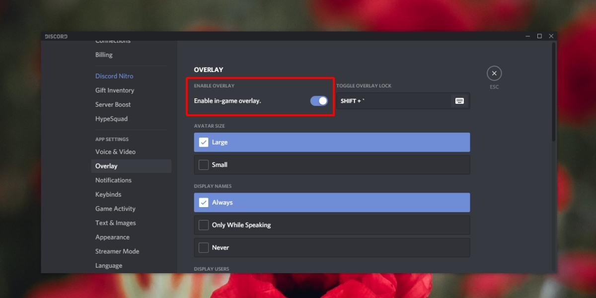 Что такое оверлей в discord, как настроить, если не работает?