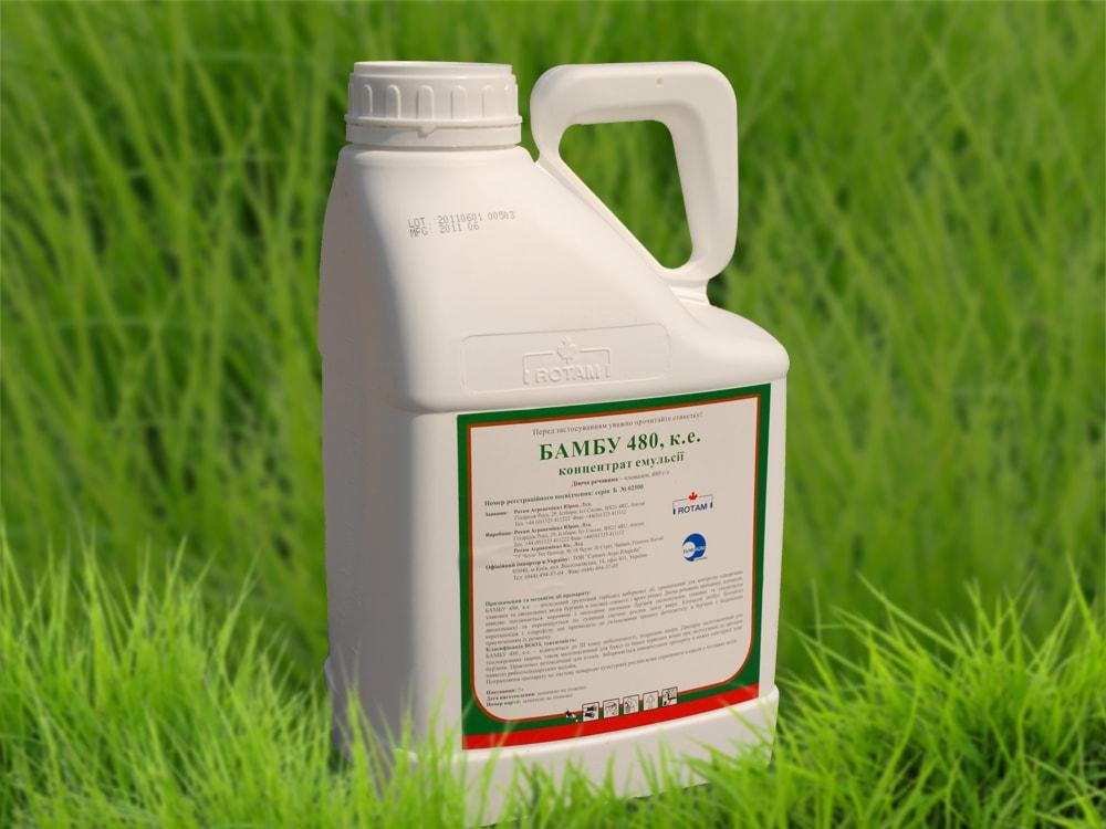 Уничтожение сорной травы пестицидами