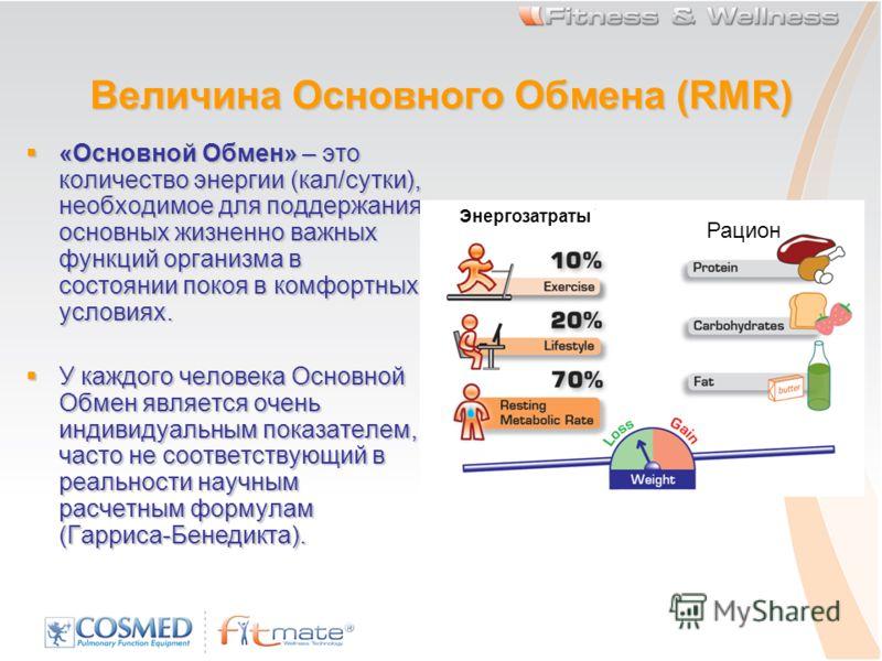 Основной обмен: формулы и методы расчета базового метаболизма