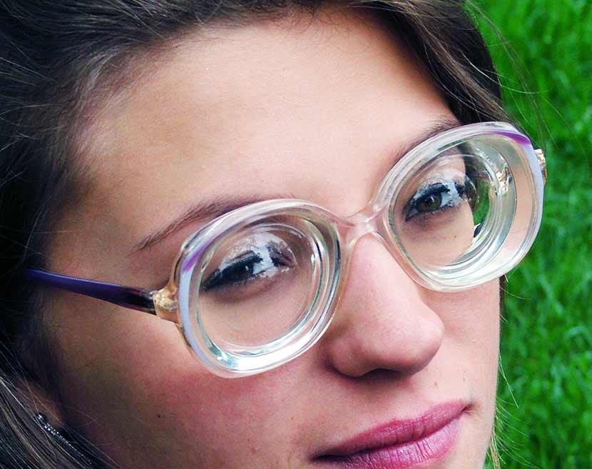 Бифокальные линзы для очков