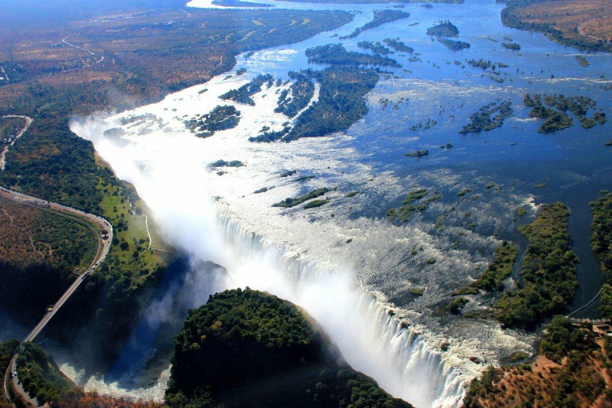 Замбези (река в африке) где берет начало и куда течет? замбези: исток, длина, расположение на карте и фото