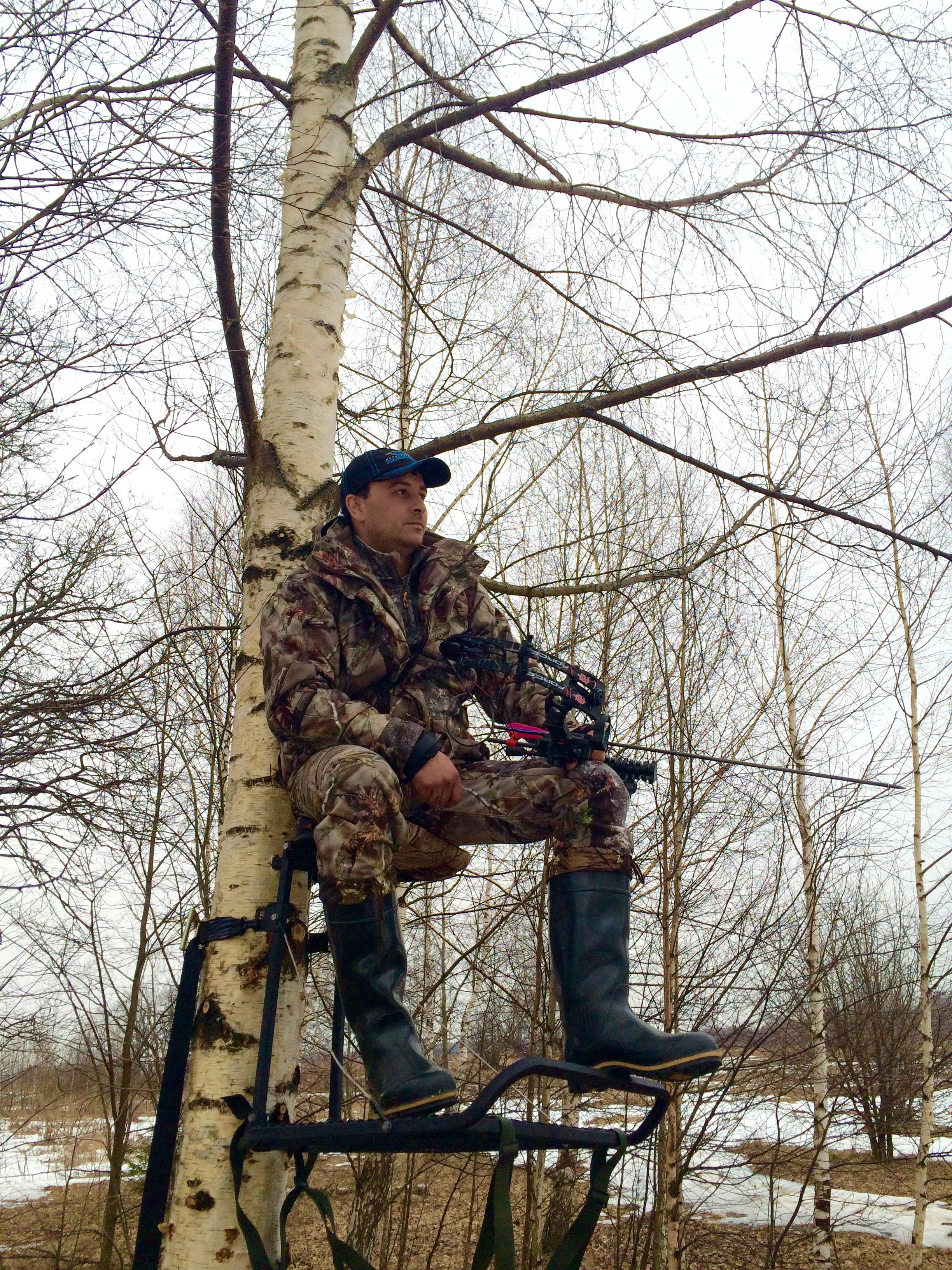 Лабаз для охоты: как построить засидку своими руками