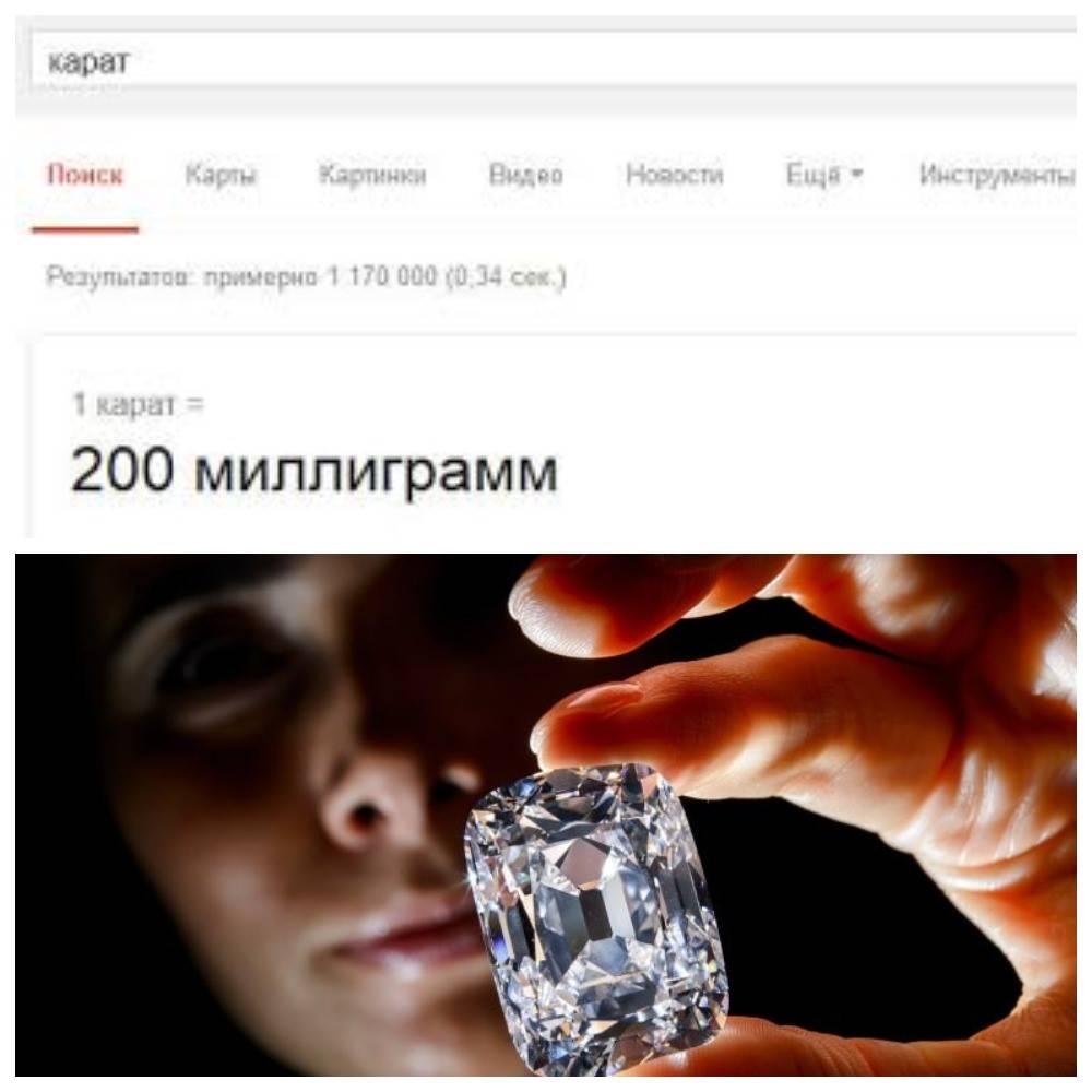 История происхождения и значение карат в камнях