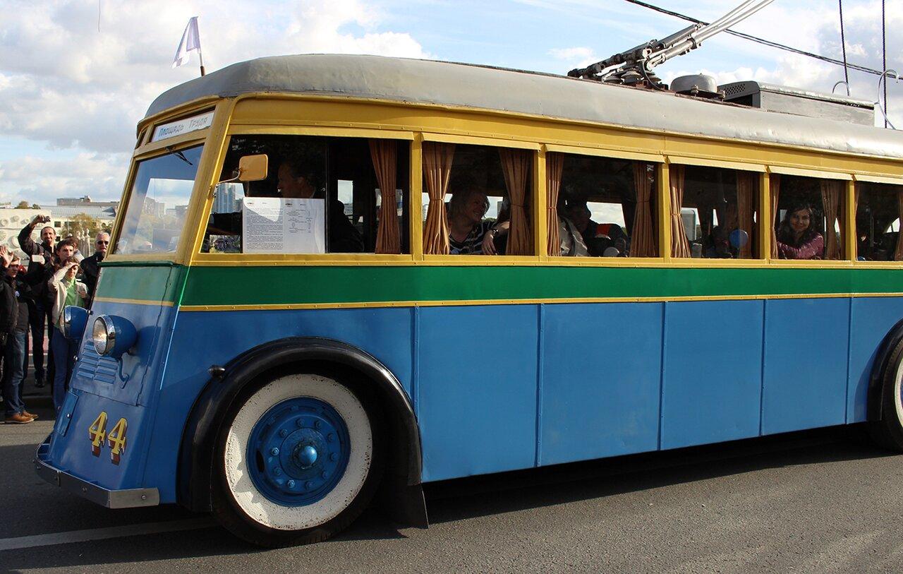 Троллейбусы ссср — история советского общественного транспорта