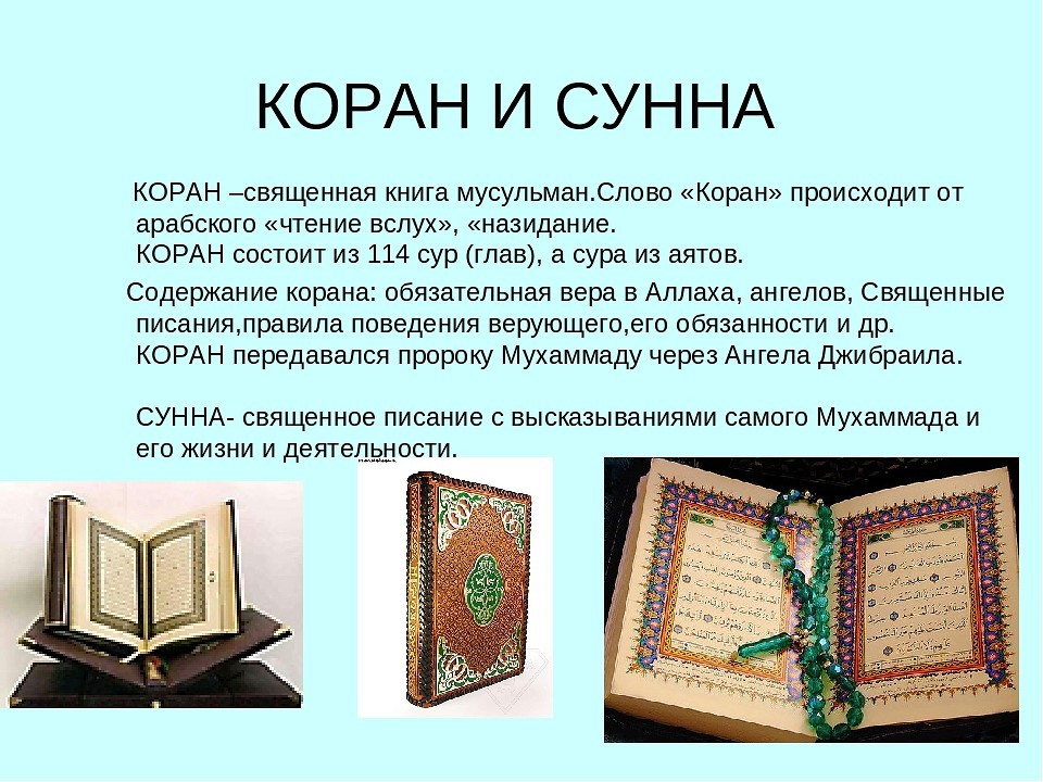 Что такое сунна? откровение для пророка мухаммада (часть 1 из 2)