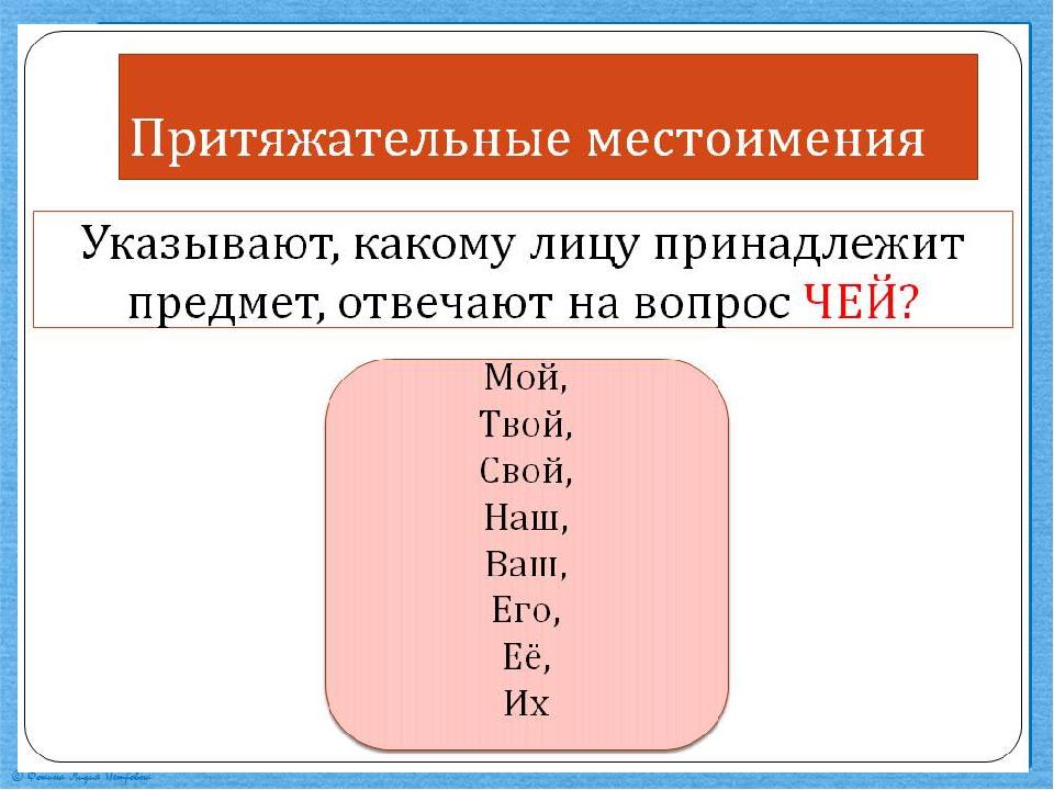 Местоимения: классы, разряды, морфологический разбор. личные местоимения