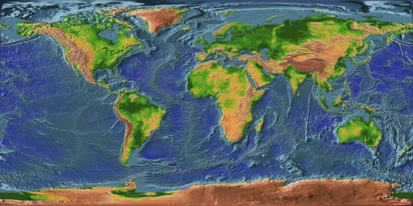 Рельеф – определение в географии, основные формы и факторы, влияющие на формирование