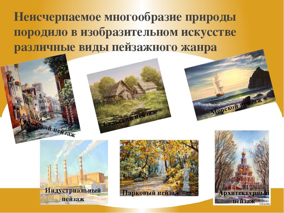 Пейзаж — википедия. что такое пейзаж