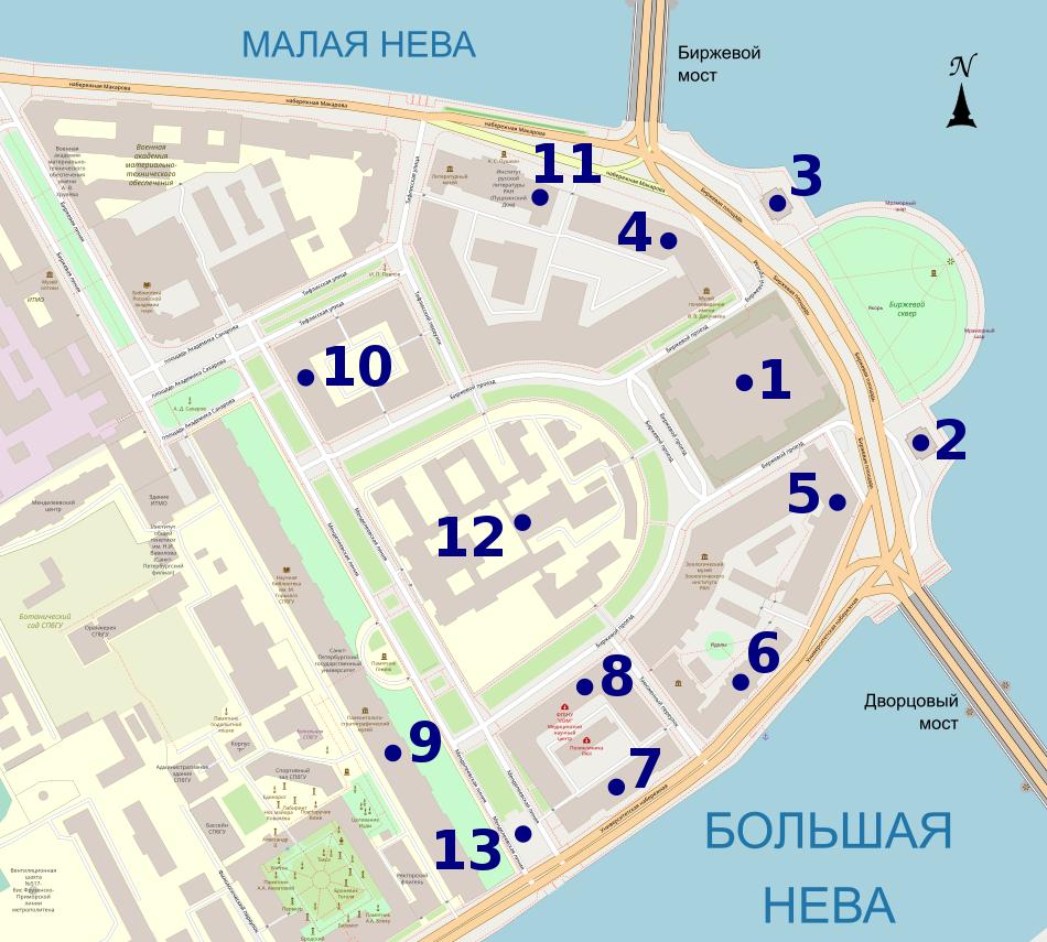 Стрелка - карта официального сайта