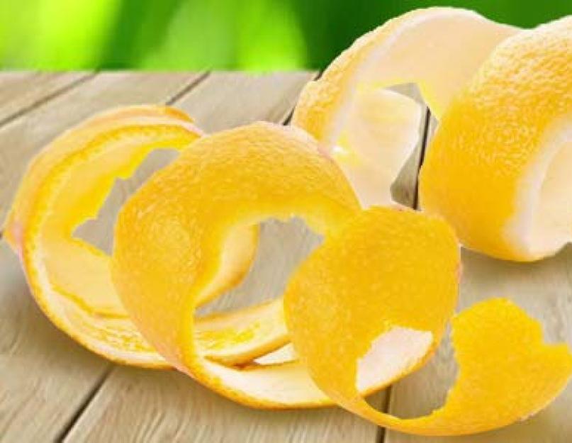Цедра лимона: как сделать, рецепты, польза и вред